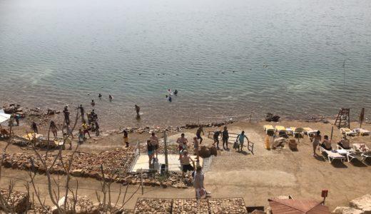 【ヨルダン編③】リゾートホテルで死海を満喫。死海って何で浮くの?