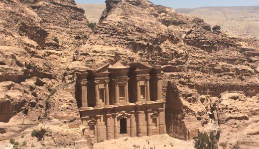 【ヨルダン編⑧】憧れのペトラ遺跡、滞在6時間で再奥のエド・ディル修道院まで往復