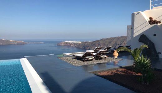 【ギリシャ編②】最低価格の部屋でも最上級のおもてなし、世界一ロマンチックなホテルAnastasis Apartmentへ!
