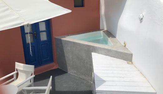 【ギリシャ編⑨】サントリーニ島イアのホテルを予約する前に絶対に確認すべき点