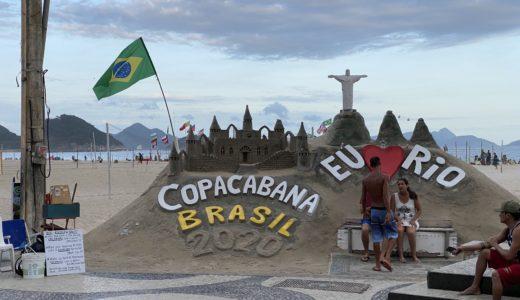 【ブラジル編①】スキミング、強盗、スリを躱せ!修羅の街リオデジャネイロのコパカバーナに宿泊